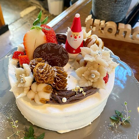 クリスマスのオーダーケーキ