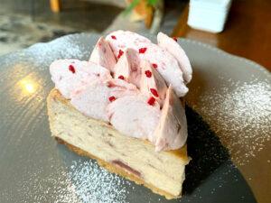 ストロベリーチーズケーキの登場